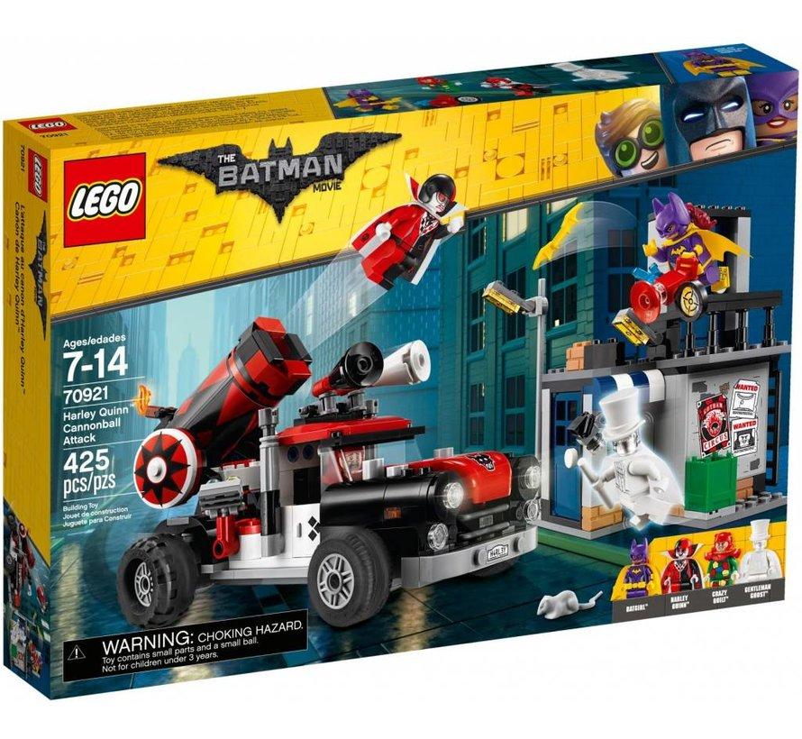 70921 Batman Movie Harley Quinn kanonskogelaanval