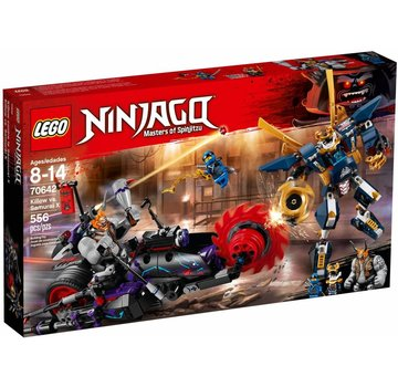 LEGO 70642 Ninjago Killow vs Samurai X