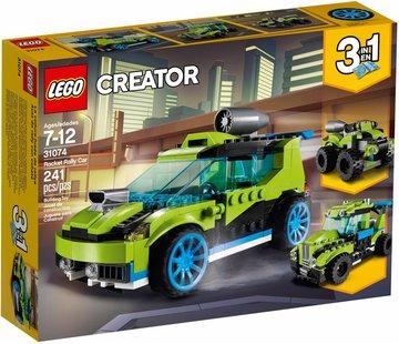 LEGO 31074 Creator Raket rallyauto
