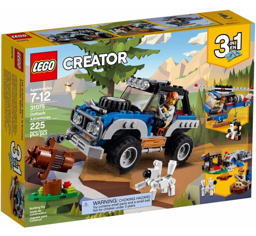 31075 Creator Outback Adventures