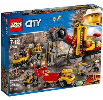 LEGO 60188 City Mijnbouw expert locatie
