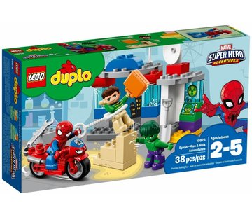 LEGO 10876 Duplo Spider-Man en Hulk avonturen