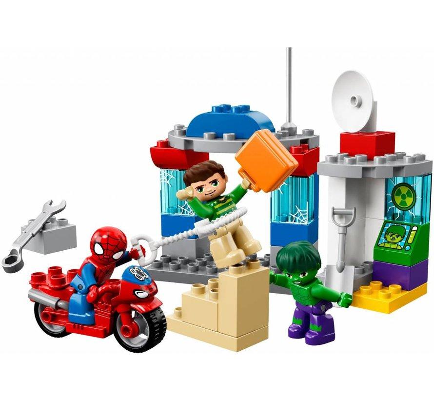 10876 Duplo Spider-Man en Hulk avonturen