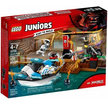 LEGO 10755 Juniors Zane's ninjaboot achtervolging