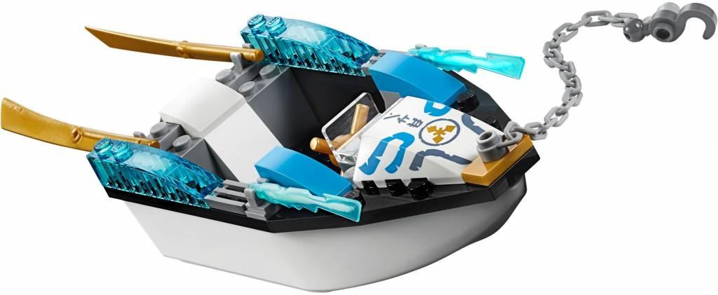 10755 Juniors Zane`s ninjaboot achtervolging - Click & Brick