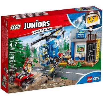 LEGO 10751 Juniors Politieachtervolging in de bergen