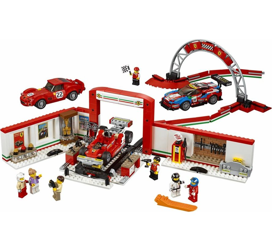 75889 Speed Champions Ultieme Ferrari garage