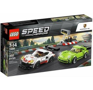 LEGO 75888 Speed Champions Porsche 911 RSR en 911 Turbo 3.0