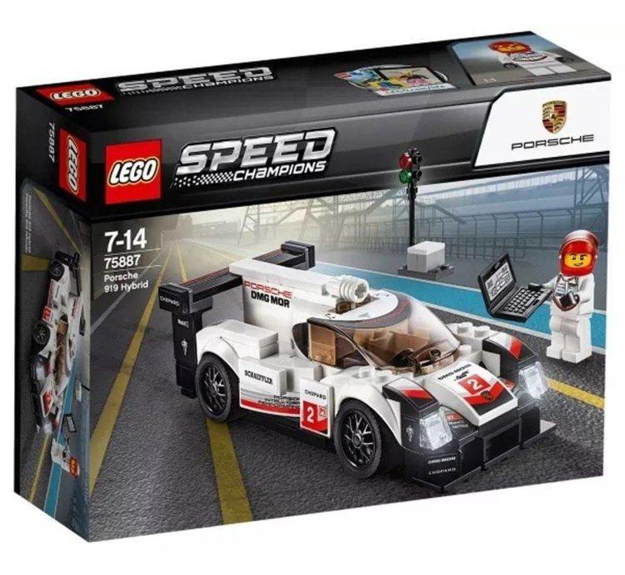 75887 Speed Champions Porsche 919 Hybrid