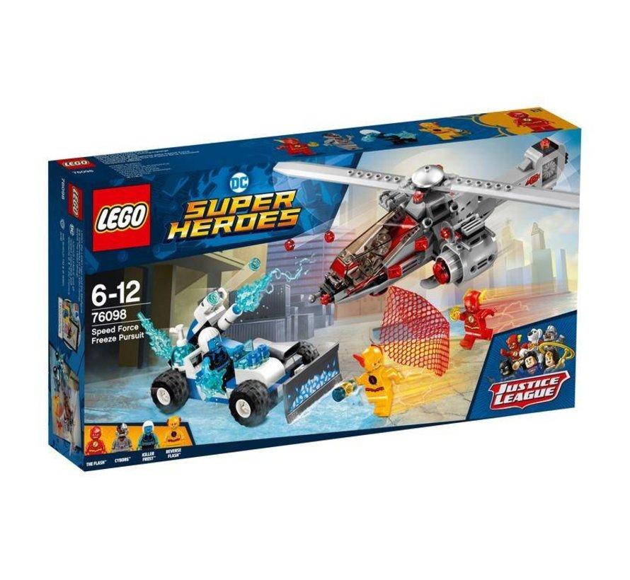 Super Heroes 76098 Speed Force vriesachtervolging