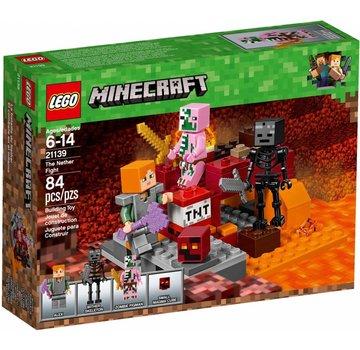 LEGO 21139 Minecraft Het onderwereldgevecht
