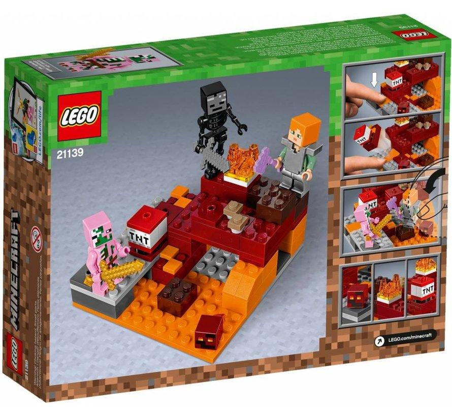 21139 Minecraft Het onderwereldgevecht