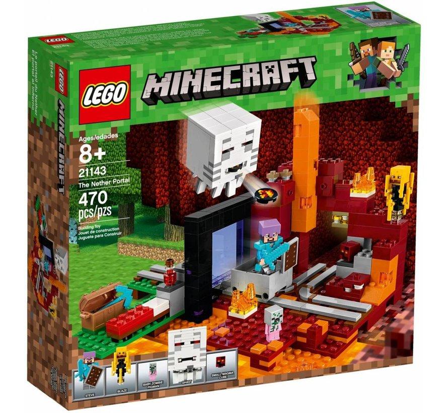 21143 Minecraft Het onderwereldportaal