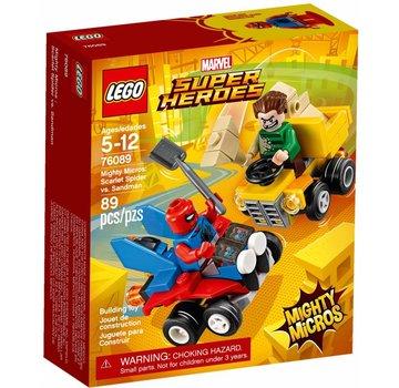 LEGO 76089 Mighty Micros: Scarlet Spider vs. Sandman