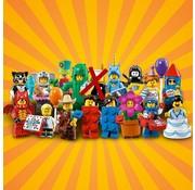 LEGO CMF serie 18, complete set van 16 (zonder agent)