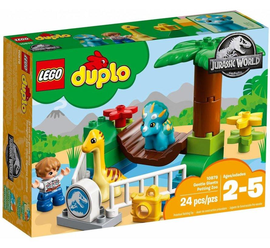 10879  Duplo Jurassic World Kinderboerderij met vriendelijke reuzen