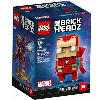 LEGO 41604  BrickHeadz Iron Man MK50