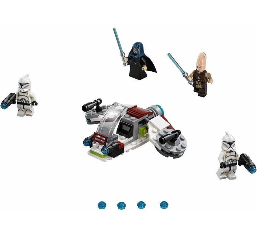 75206  Star Wars Jedi en Clone Troopers Battle Pack