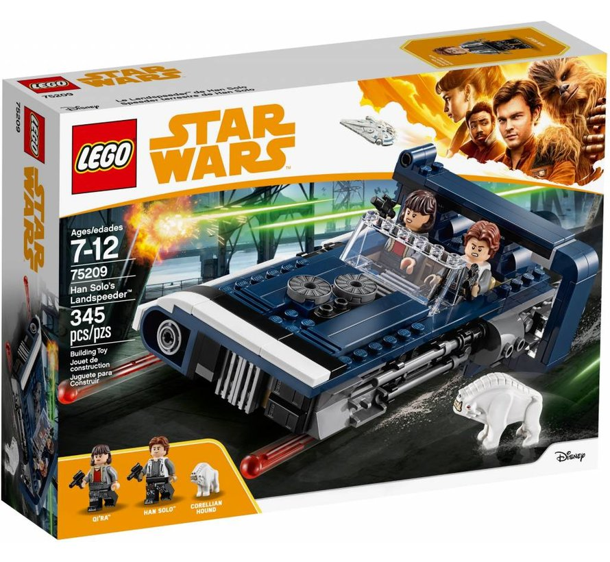 75209  Star Wars Han Solo's Landspeeder