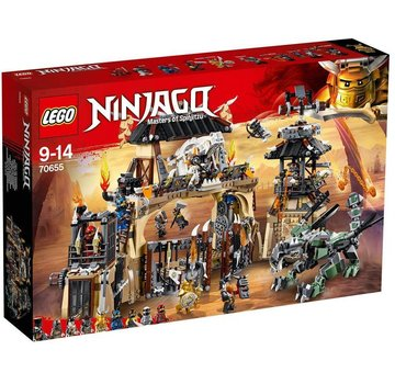 LEGO 70655  Ninjago Drakenpit