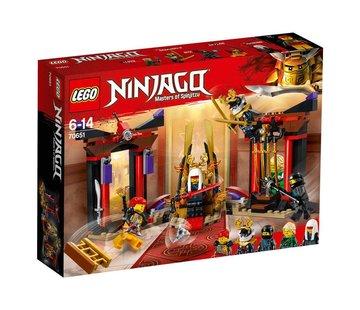 LEGO 70651 Ninjago Troonzaalduel