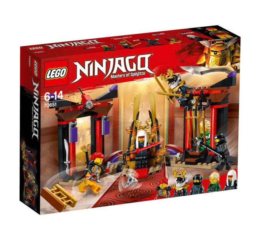 70651 Ninjago Troonzaalduel
