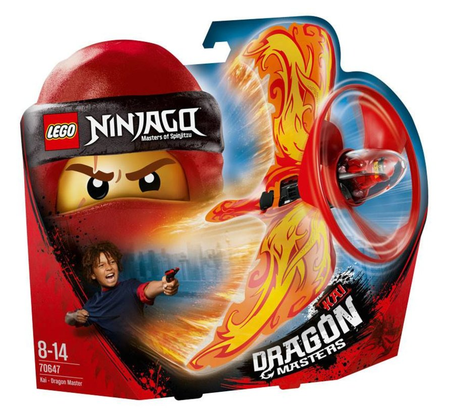 70647 Ninjago Kai Drakenmeester