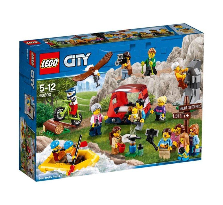 60202 City Personenpakket buitenavonturen