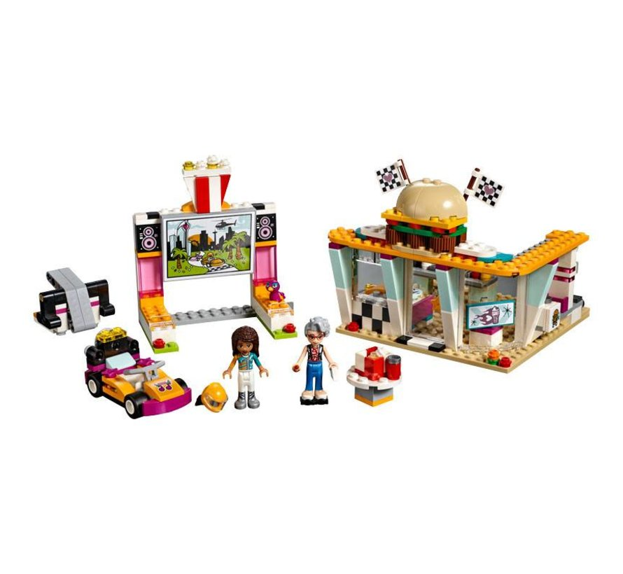 41349 Friends Go-kart diner