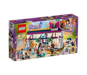 LEGO 41344 Friends Andrea`s accessoirewinkel