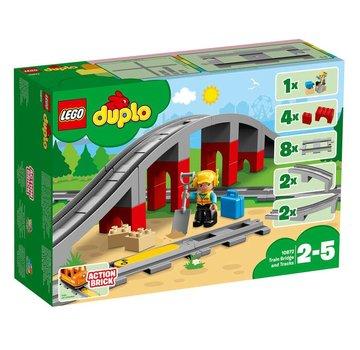 LEGO 10872 Duplo Treinbrug en- rails