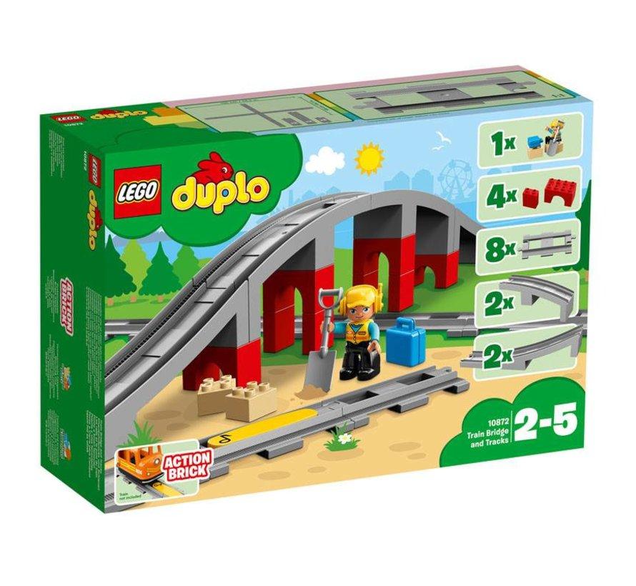 10872 Duplo Treinbrug en- rails