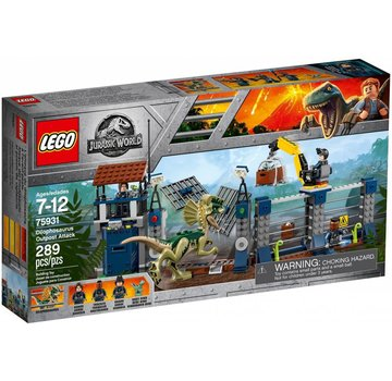 LEGO 75931 Jurassic World Aanval op de uitkijktoren van Dilophosaurus