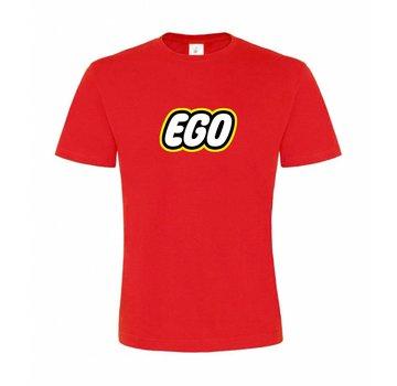 T-shirt EGO Rood