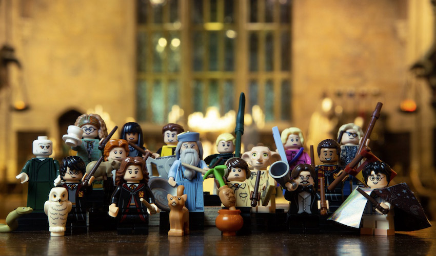 De LEGO figuren uit de Harry Potter films