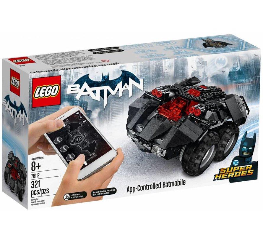 76112 Super Heroes Batmobiel met app-bediening