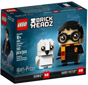 LEGO 41615  BrickHeadz Harry Potter en Hedwig