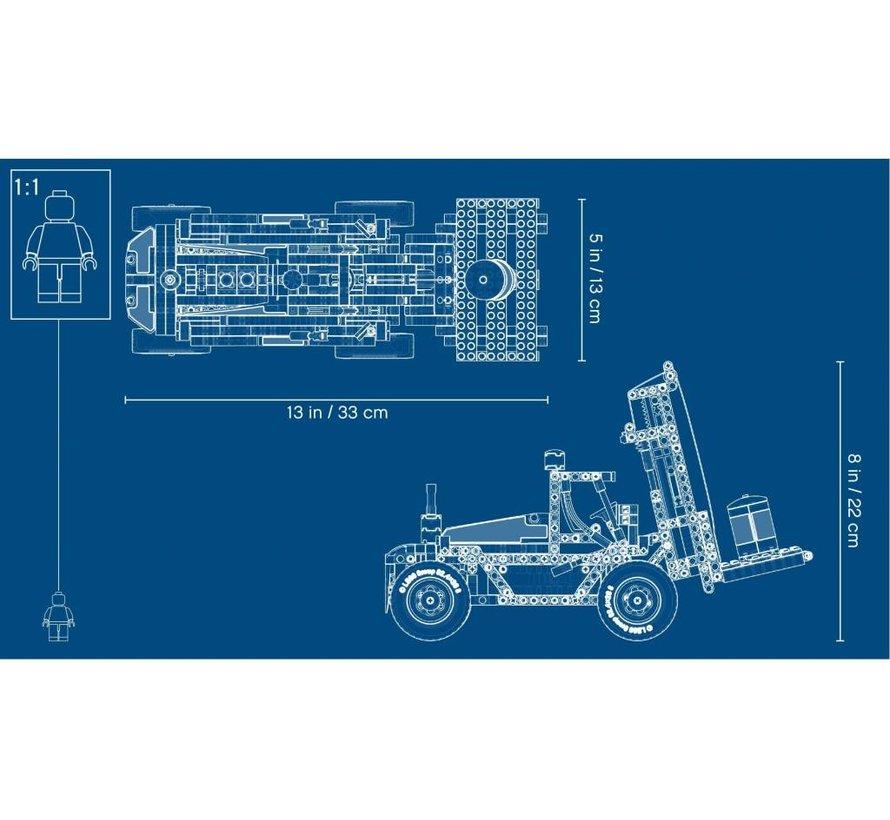 42079 Technic Robuuste vorkheftruck