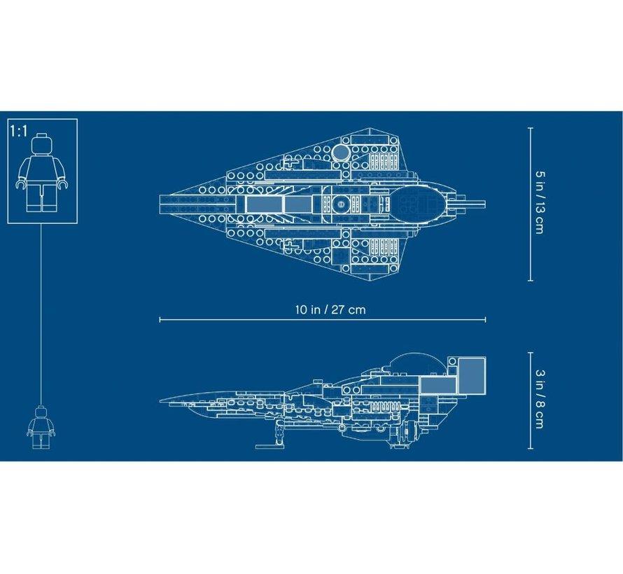 75214  Star Wars Anakin's Jedi Starfighter