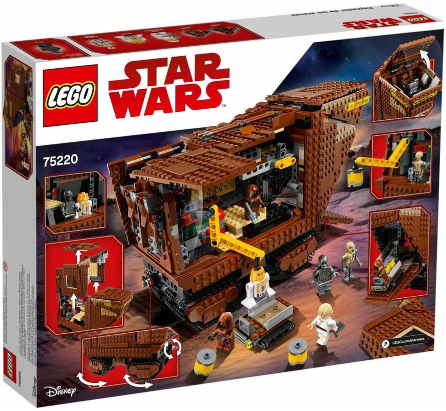 75220  Star Wars Sandcrawler
