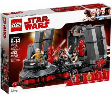 LEGO 75216  Star Wars Snoke's Throne Room