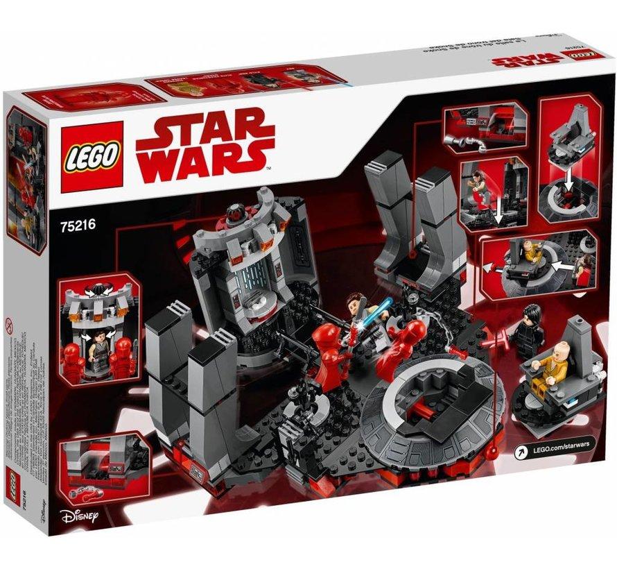 75216  Star Wars Snoke's Throne Room