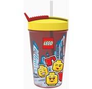 LEGO Drinkbeker met rietje LEGO Iconic Girl (40441725)