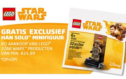 Star Wars Han Solo figuur gratis