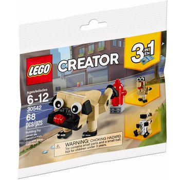 LEGO 30542 Creator Schattige Mopshond (polybag)