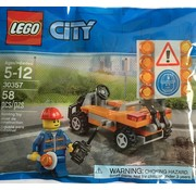 LEGO 30357 City Wegenbouwer (polybag)