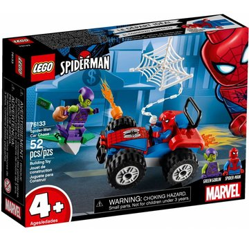 LEGO 76133 Super Heroes Auto Achtervolging Spider-Man