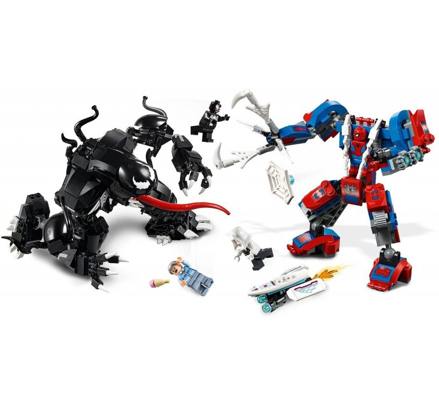 76115 Super Heroes Spider Mecha vs. Venom