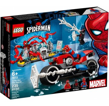 LEGO 76113 Super Heroes Spider-Man bike reddingsactie