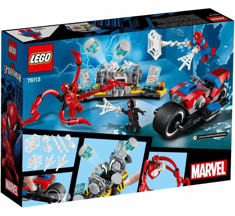 76113 Super Heroes Spider-Man bike reddingsactie